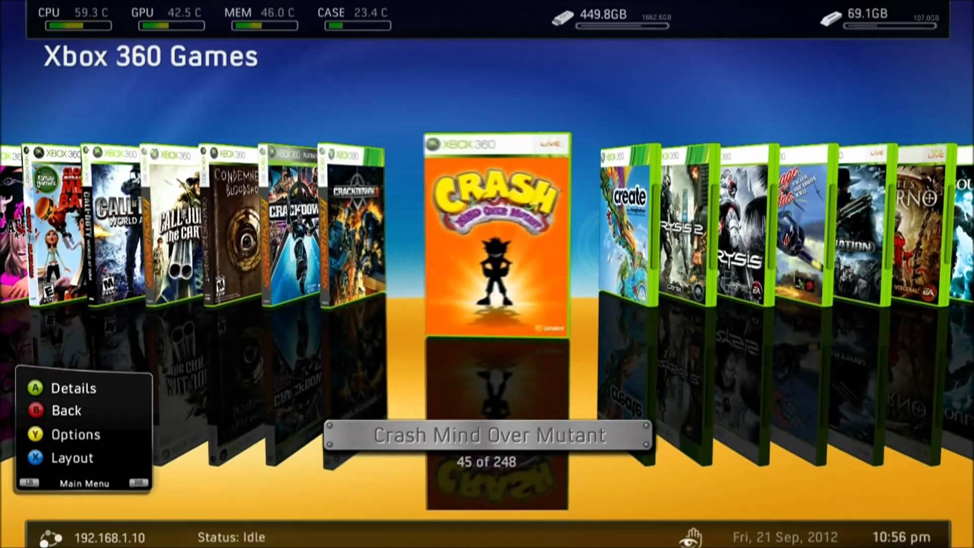 RGH & JTAG | Speel Modded Games vanaf HDD