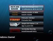 Homebrew channel menu