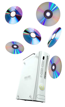 Xbox game disc