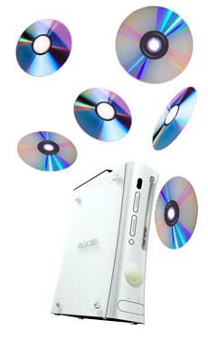 Xbox game disc