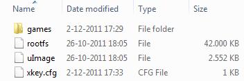 Xkey firmware update