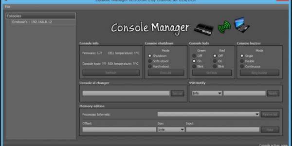 Modding tool CCAPI voor CFW CEX en DEX 4.80