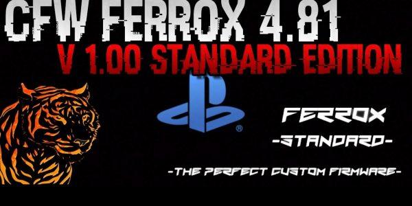 CFW Ferrox 4.81 v1.00 Standaard & Cobra