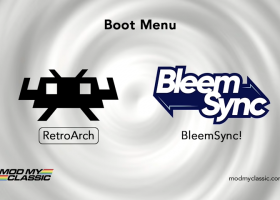 Boot menu PS Classic