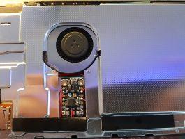 Switch Modchip install Trinket M0 shielded